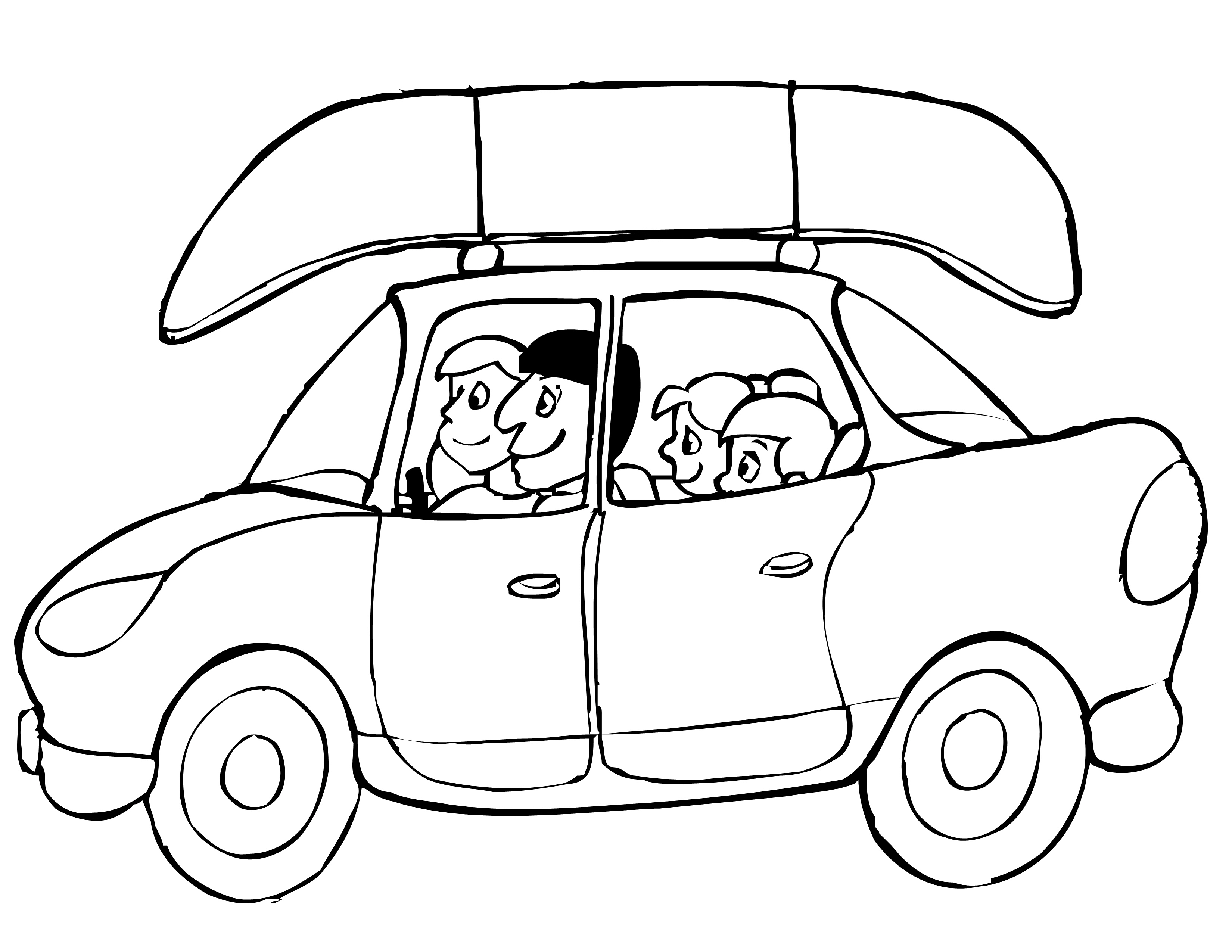 Coloring pages summer vacation for Summer vacation coloring pages